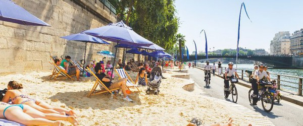 A summer itinerary: Paris Plages and the Fountains of Versailles