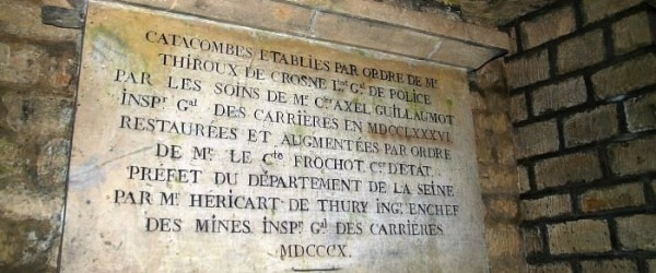 Discovering the Paris catacombs from the Sophie Germain